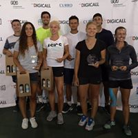 The team at 2018 Digicall Future 1 Prize Giving