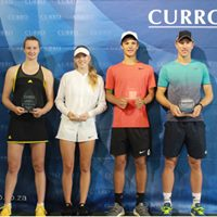 The team at 2018 Curro Junior ITF 2 prize givings