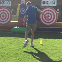 SNAG golf event at Century City for young golfers