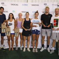 Tennis team at the 2018 Digicall Futures 2 Prize Giving
