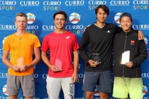 Junior ITF 2019 J2 Boys Doubles Finalists - Caylix Sport