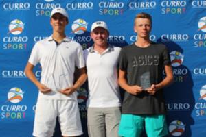 Junior ITF 2019 J4 Boys Singles Finalists - Caylix Sport